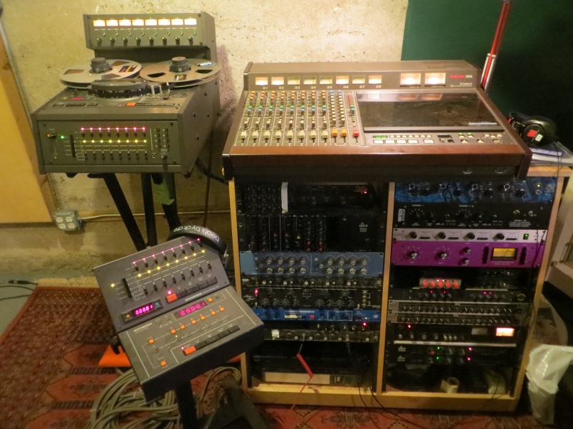 Otari MX-5050 vs Tascam 388