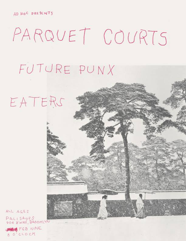 Parquet Courts, Future Punx, Eaters